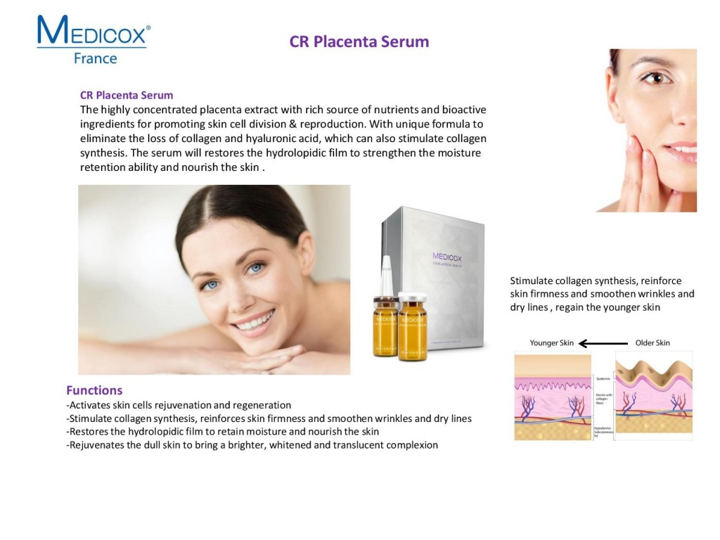 Medicox CR Placenta Serum